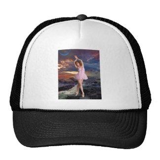 SUNSET BALLET TRUCKER HATS