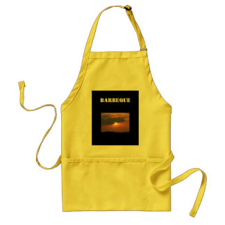 Sunset Barbeque Adult Apron