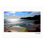 Sunset Bay (Posterized) - Postcard by RBDStore