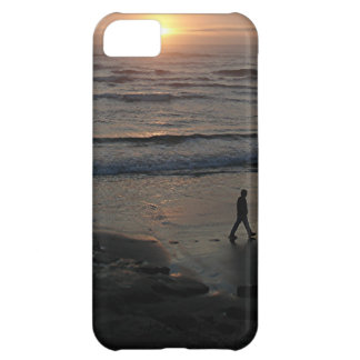 """Sunset Beach"" by Lewis Evans Case For iPhone 5C"