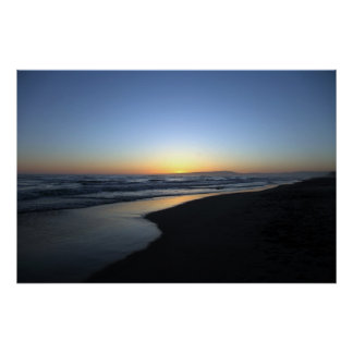 Sunset Beach California Poster
