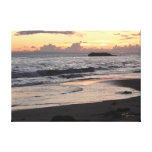 Sunset Beach Canvas Gallery Wrap Canvas