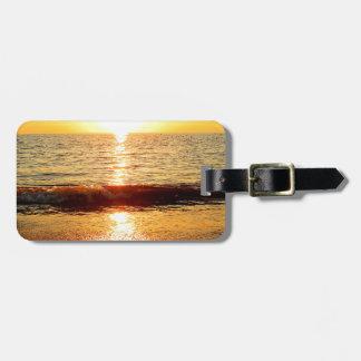 Sunset beach, Cape May NJ Bag Tag