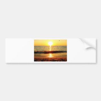 Sunset beach, Cape May NJ Bumper Sticker