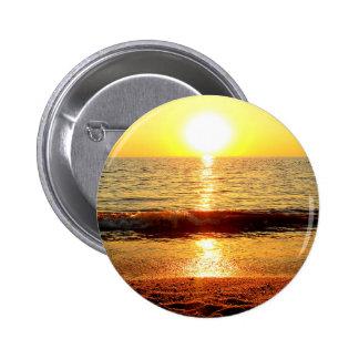 Sunset beach, Cape May NJ Pinback Button