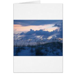 Sunset Beach Card