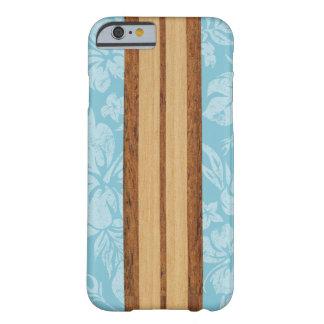 Sunset Beach Faux Wood Surfboard Hawaiian iPhone 6 Case