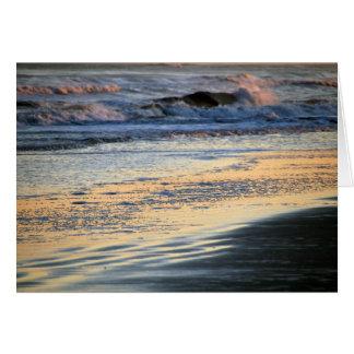 Sunset Beach Glow Notecard
