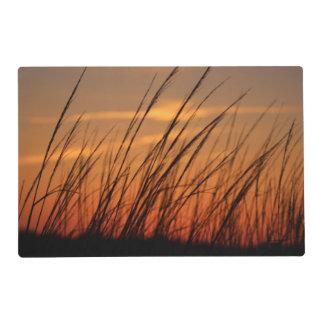 Sunset Beach Grass Placemat