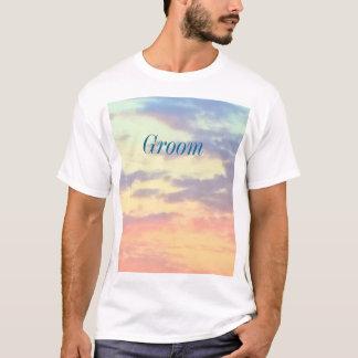 Sunset Beach Groom T Shirt