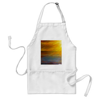 Sunset Beach Hawaii Adult Apron