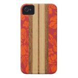Sunset Beach Hawaiian Surfboard iPhone 4 Case