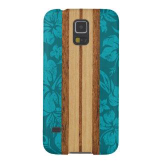 Sunset Beach Hawaiian Surfboard Samsung Galaxy Case For Galaxy S5
