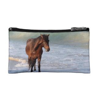 Sunset Beach Horse Makeup Bag
