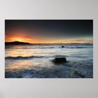 Sunset Beach II Poster