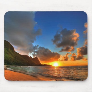 Sunset Beach Mouse Pad