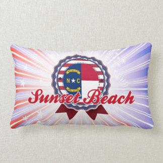 Sunset Beach, NC Pillows