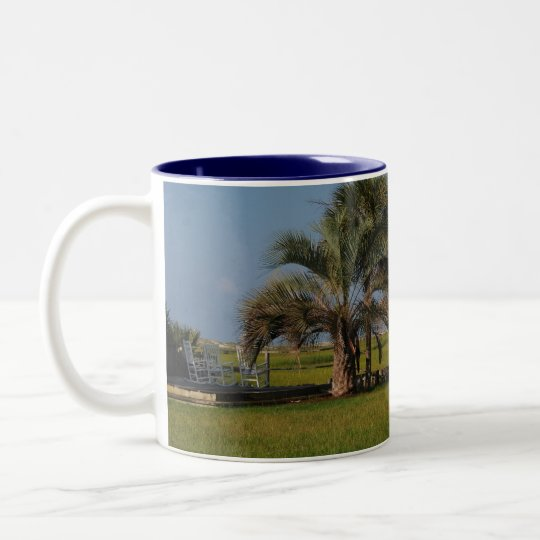 Sunset Beach North Carolina Mug