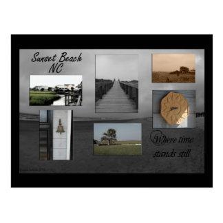 Sunset Beach North Carolina Postcard