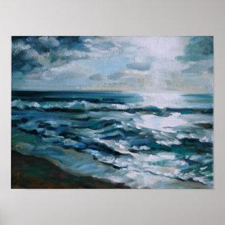 Sunset Beach O'ahu Poster