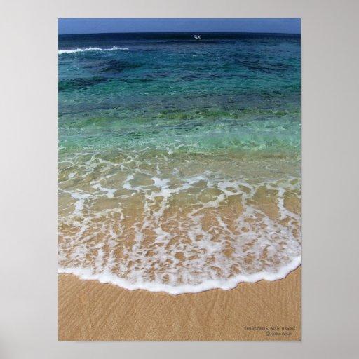 Sunset Beach, Oahu, Hawaii Print