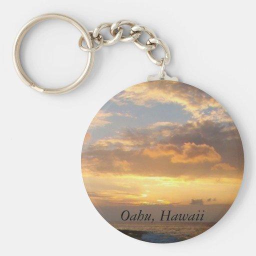 Sunset Beach, Oahu Keychains