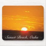 Sunset Beach, Oahu Mouse Mat