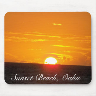 Sunset Beach, Oahu Mouse Pad