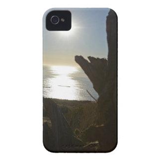 Sunset beach ocean iPhone 4 case