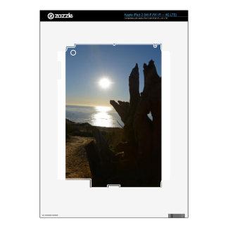 Sunset beach ocean decal for iPad 3