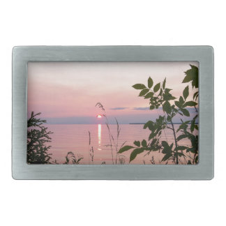 Sunset Beach Park Belt Buckle