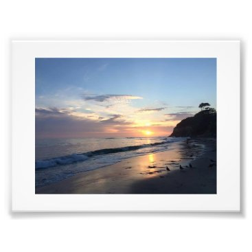 Beach Themed Sunset beach photograph