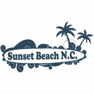 Sunset Beach. Photo Cutout