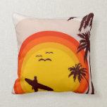 Sunset Beach Pillow