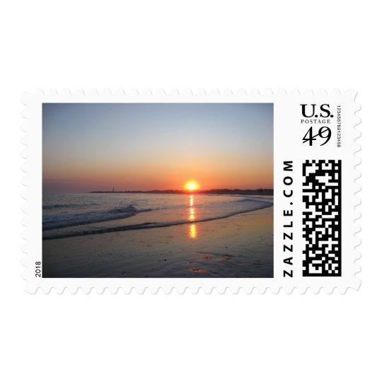 Sunset * Beach Postage