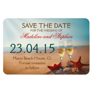 Save the date photo magnets in Perth