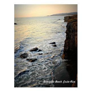 Sunset Beach Scene, Costa Rica Postcard