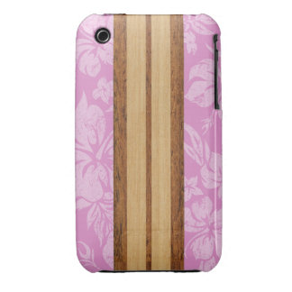 Sunset Beach Surfboard Barely There iPhone 3 Cover