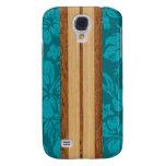 Sunset Beach Surfboard Hawaiian Samsung Galaxy S4 Cases