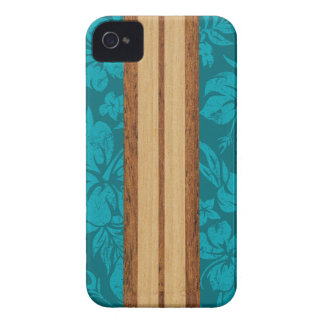 Sunset Beach Surfboard Hawaiian iPhone 4 Cases