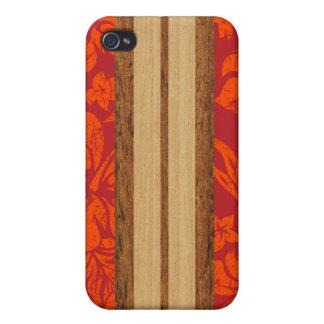 Sunset Beach Surfboard Hawaiian iPhone 4 Cover