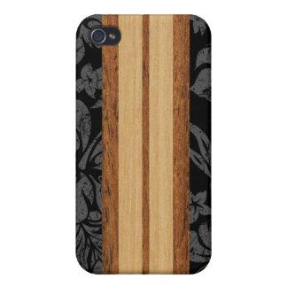 Sunset Beach Surfboard Hawaiian iPhone 4/4S Cases