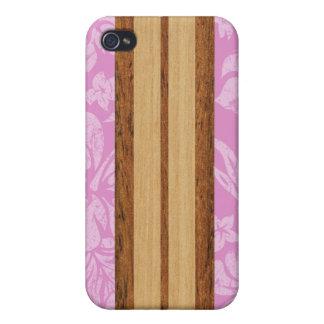 Sunset Beach Surfboard Hawaiian iPhone 4/4S Covers