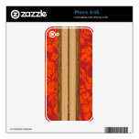 Sunset Beach Surfboard iPhone 4/4S Skin Skins For iPhone 4S