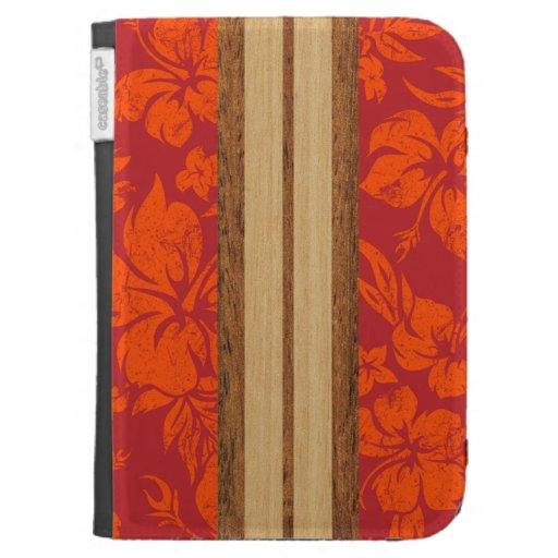Sunset Beach Surfboard Kindle Folio Case For Kindle