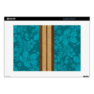 Sunset Beach Surfboard Mac or PC Laptop Skin