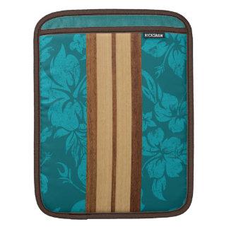 Sunset Beach Surfboard Rickshaw iPad Case