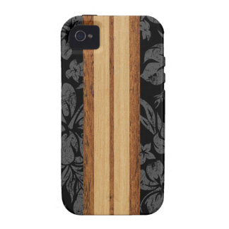 Sunset Beach Surfboard Vibe iPhone 4 Case