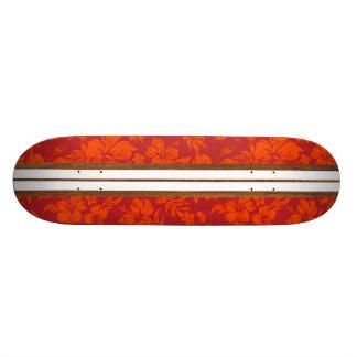 Sunset Beach Vintage Surf Hawaiian Skateboard