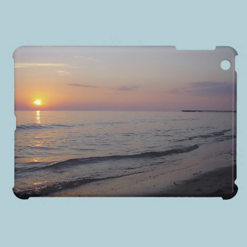 Sunset Beach Waves iPad Mini Cover